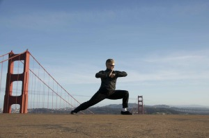 Lian Bu - Linking or Continuous Steps performed by Shifu Scott Jensen who teaches in Marin, Berkeley, and San Francisco, CA
